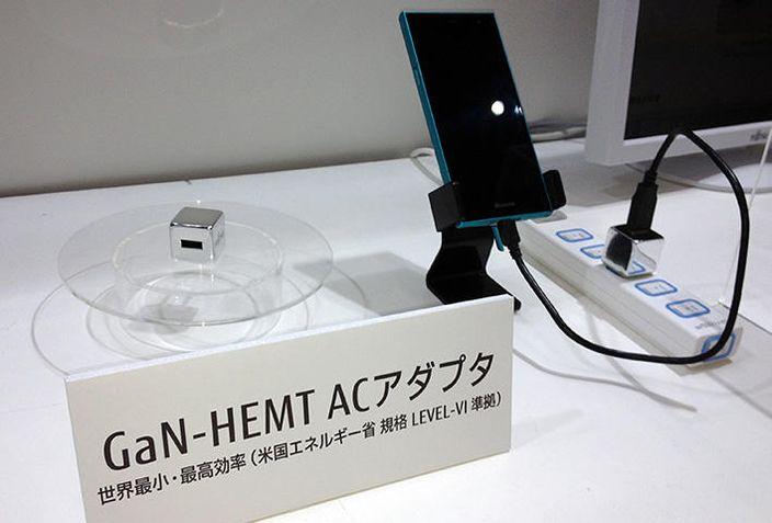 富士通的氮化鎵材料技術已應用電子產品上。(網上圖片)