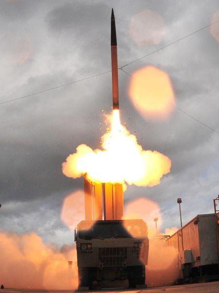 「薩德」導彈防禦系統(網上圖片)