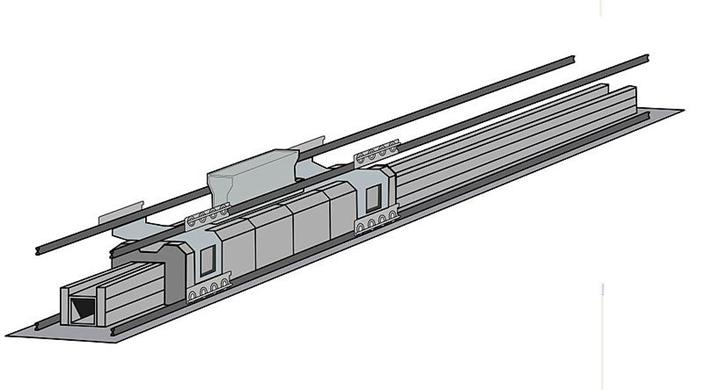 電磁彈射器(EMALS)結構圖
