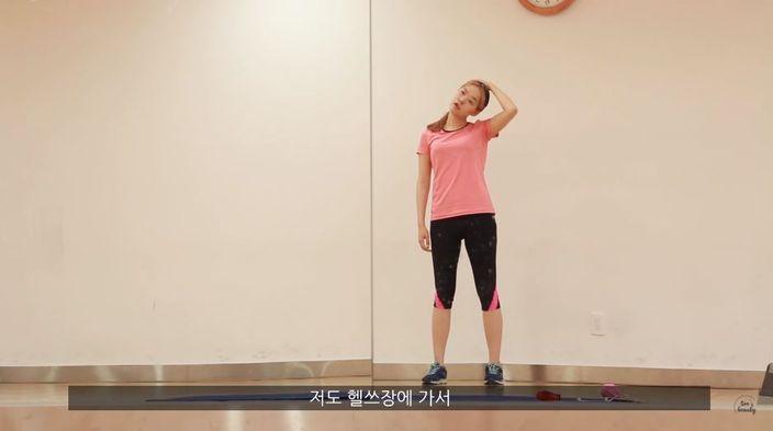 Korean lady took on the challenge of star IU's one-week