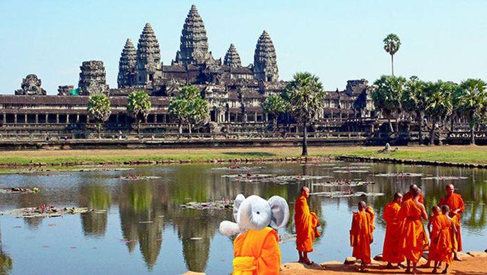 再去亞洲的柬埔寨 (網上圖片)