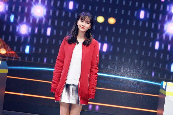 杨颖怀孕穿衣打扮