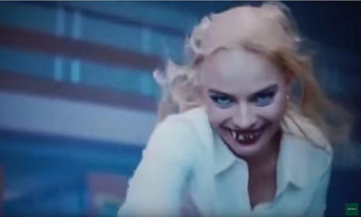 「自杀特攻队」Margot Robbie小丑女突变爆牙秃头女 这惊吓程度!