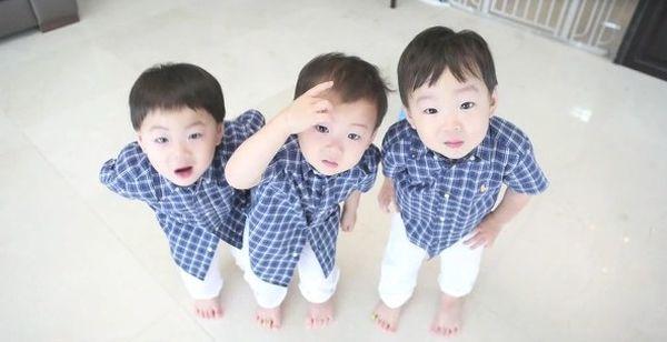 《超人回来了》:宋家这肥都都的三胞胎现长大了不少