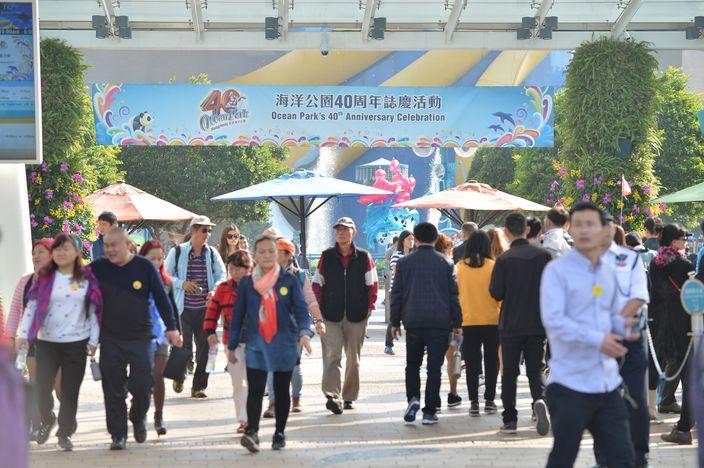 為慶祝開業40周年,海洋公園推出專為香港市民而設的限時特惠門票。(資料圖片)