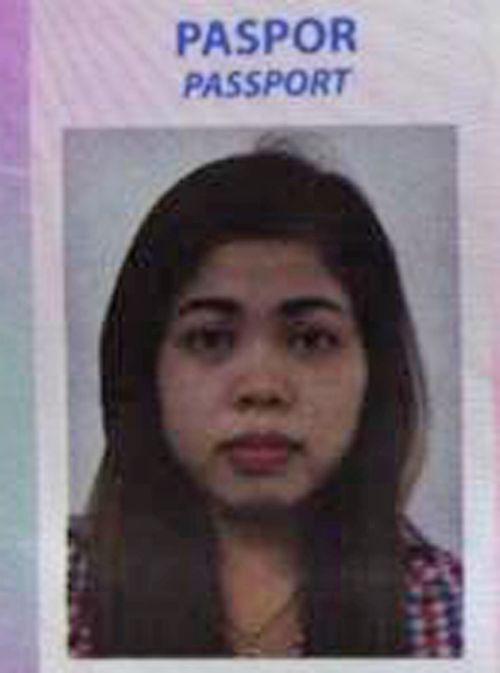 被捕的印尼女疑犯(AP圖片)