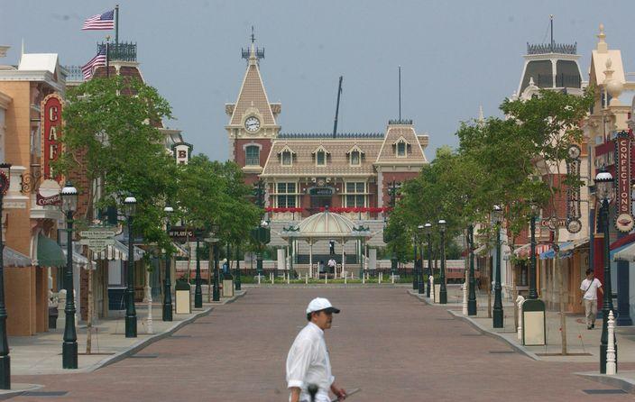 迪士尼美國小鎮大街。﹝資料圖片﹞