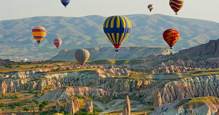 土耳其奇石林熱氣球1