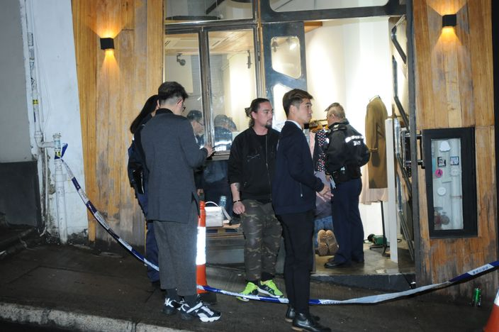 中環鴨巴甸街一間時裝店昨晚發生劫案。(資料圖片)