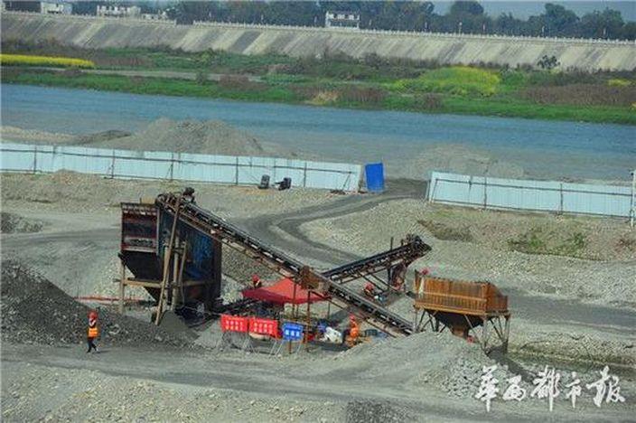 岷江考古現場 (網上圖片)