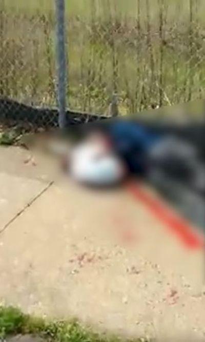 被擊斃的戈德溫(網上圖片)