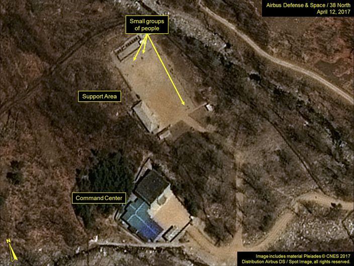 北韓核試場