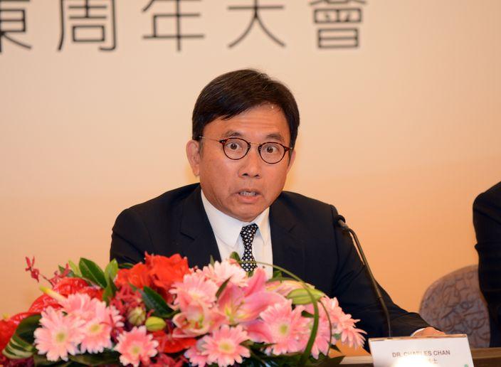 TVB主席陳國強。(資料圖片)