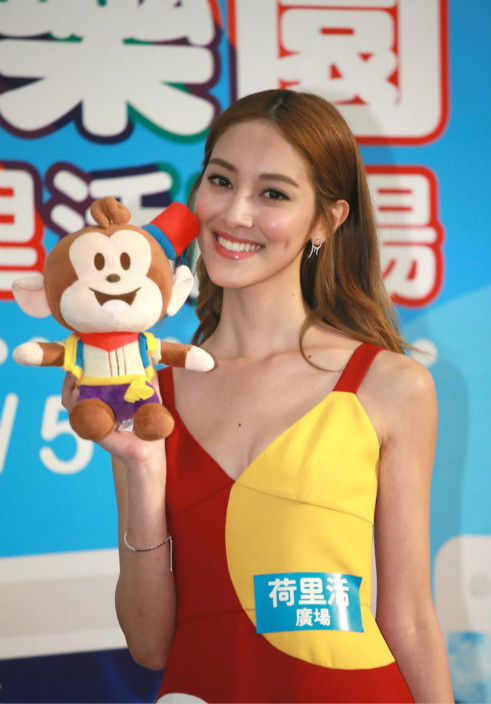 Grace出席「台灣好樂園旅遊節」發佈會(東星圖片)