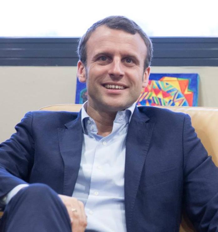 法國總統選舉候選人馬克龍 (Emmanuel Macron)(圖片來自其Facebook)
