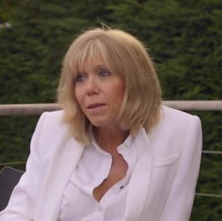 馬克龍太太Brigitte(法國電視台France 3紀錄片截圖)