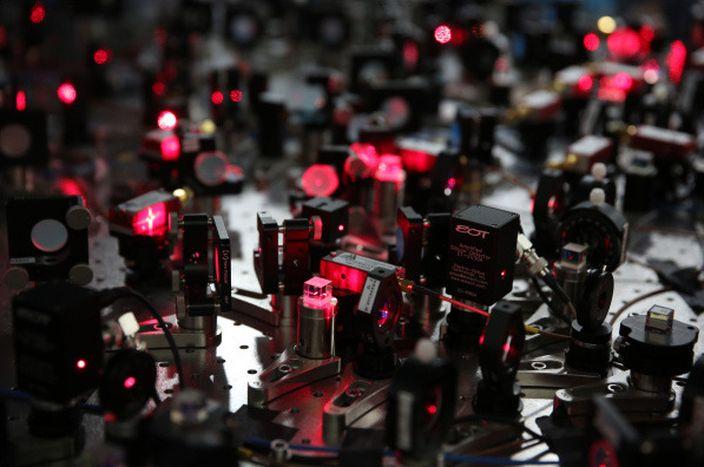 中國量子計算機實驗室(網上圖片)