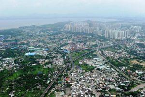 大灣區發展潛力龐大,洪水橋宜發展為核心商業區。