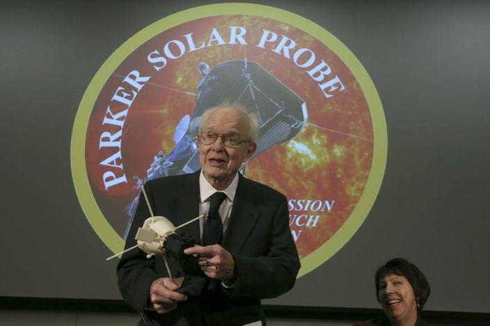天文學家尤金帕克(AP圖片)