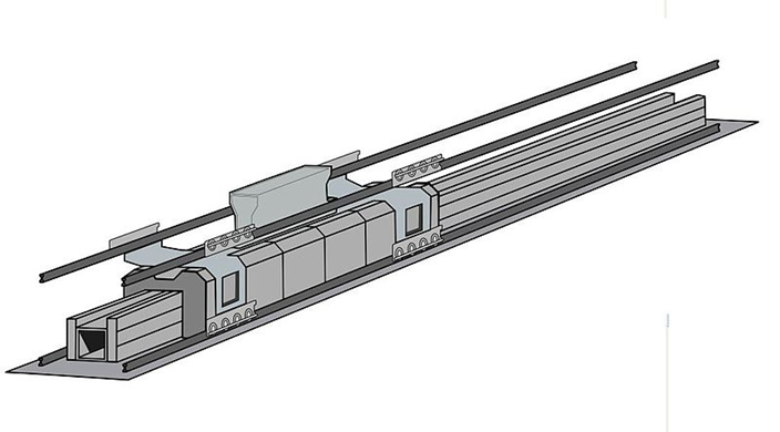 电磁弹射器(EMALS)结构图