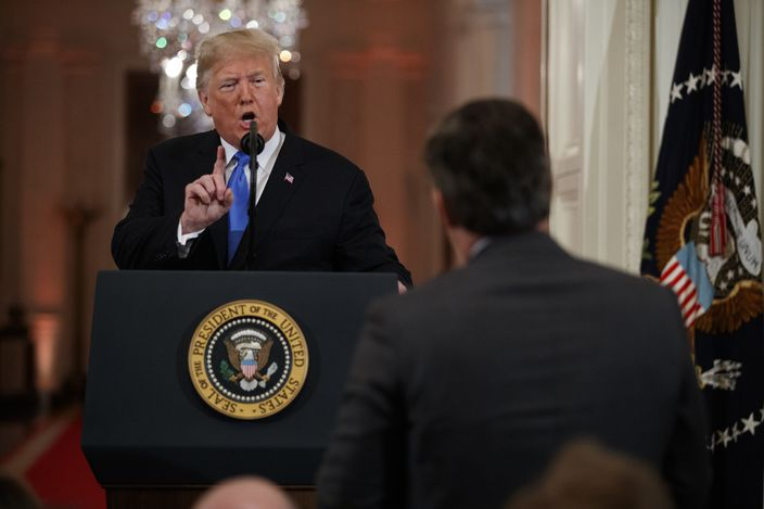 Donald Trump, Jim Acosta
