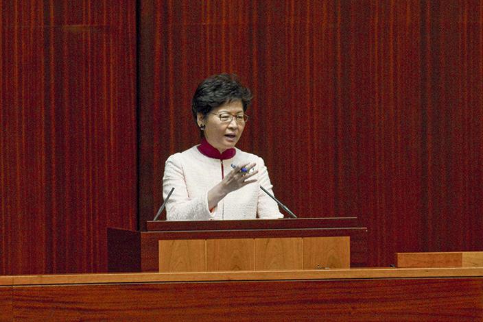 特首林鄭出席立法會答問大會