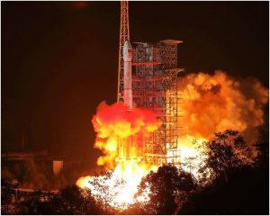 嫦娥四號探測器成功發射(星島圖片)