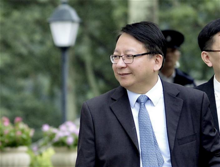 圖: 特首辦主任KK 陳四出遊說。資料圖片