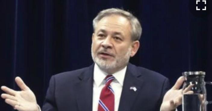 美國能源部副部長布魯耶特(AP圖片)