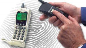 2000 年,法国 SAGEM 推出 SAGEM MC 959 手机,第一次实现指纹识别手机的量产。(网上图片)