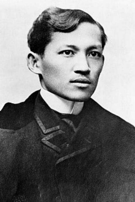 图:菲律宾国父黎刹。