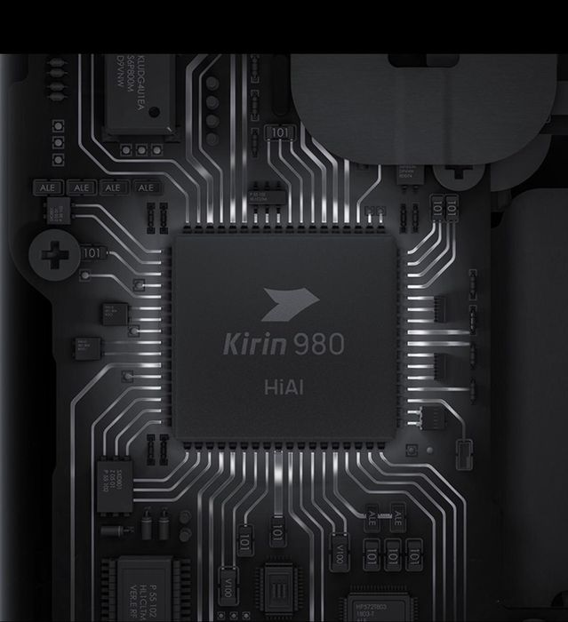 華為全新AI手機芯片Kirin 980。