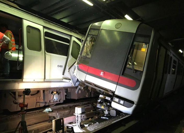 港鐵撞車 (1)
