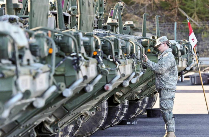 美军位于德国巴伐利亚邦的霍恩费尔斯军事训练区(Hohenfels Training Area)。 美国国防部图片
