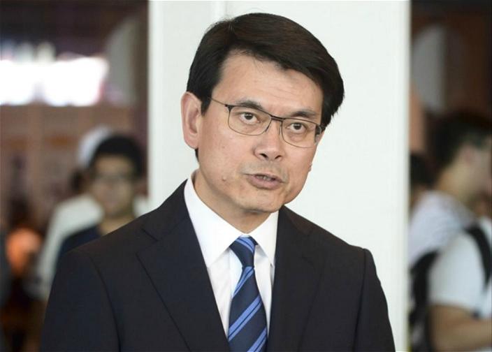 商务及经济发展局局长邱腾华。