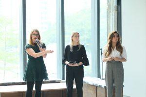 「時尚未來挑戰大獎」得獎隊伍來自薩凡納藝術設計大學,以「視象化區塊鏈」手機應用程式為題。