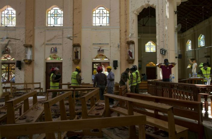 斯里兰卡爆炸1