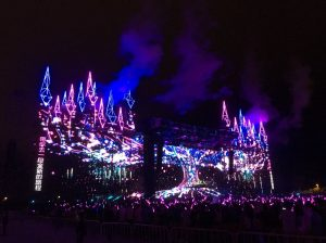 香港迪士尼乐园曾举办演唱会