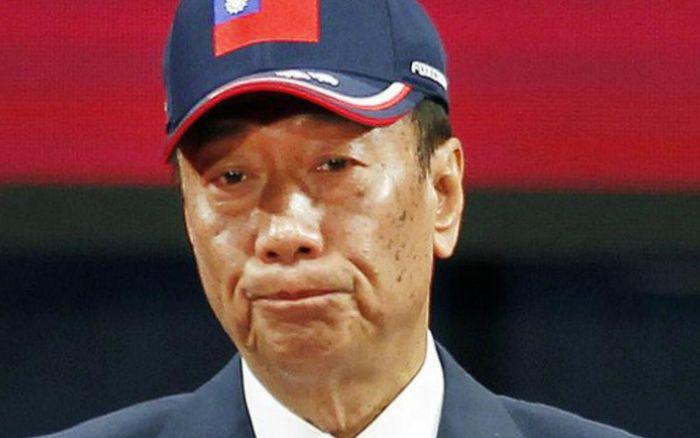 郭台铭宣布参选总统。