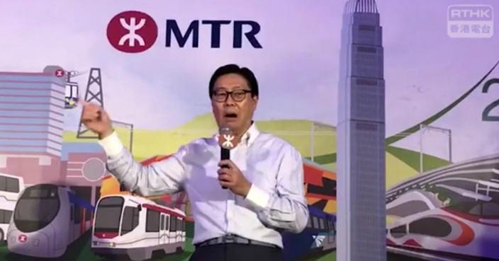 馬時亨話,香港由40年前的「爭氣之都」,變到現時的「怨氣之都」,他對各界的批評或「被屈」都會一笑置之。(港台圖片)