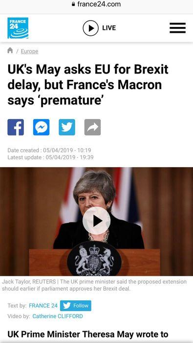 法國傳媒報道總統馬克龍硬起來了。