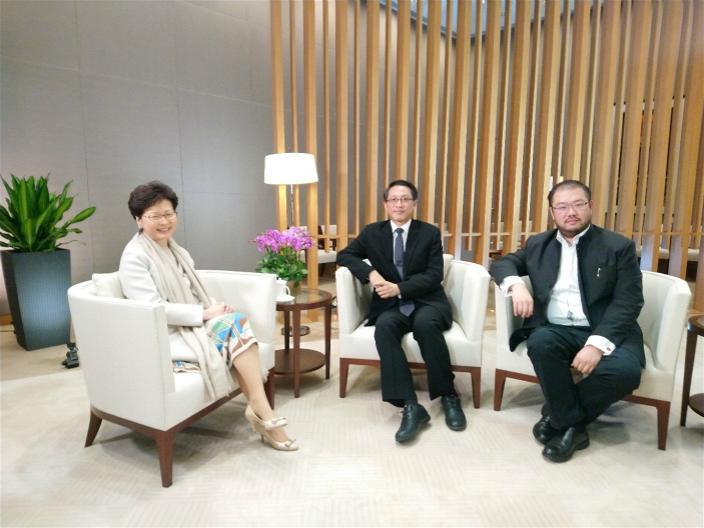 首集《开嚟见特首》黄永邀得行政长官林郑月娥出任嘉宾