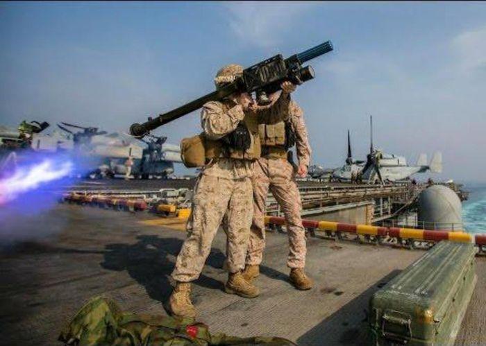此次對台軍售包括2.2億美元的可攜式毒刺防空導彈。網上圖片
