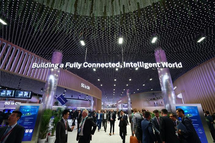 华为的联接技术和5G通讯都取得全球领先地位。(图片来源︰华为网页)