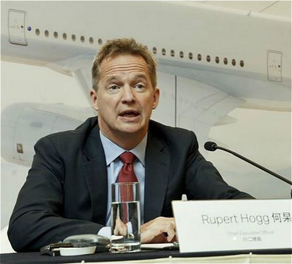 國泰航空行政總裁何杲Rupert Hogg辭職, 資料圖片