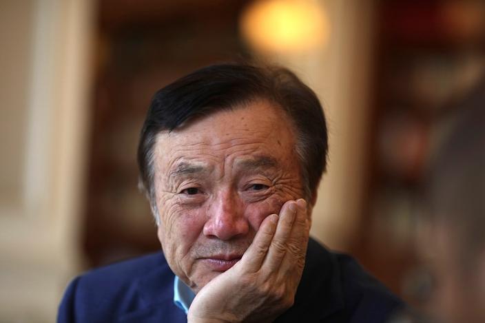 任正非在深圳開創了一間華為,但付出也太多了。(AP圖片)