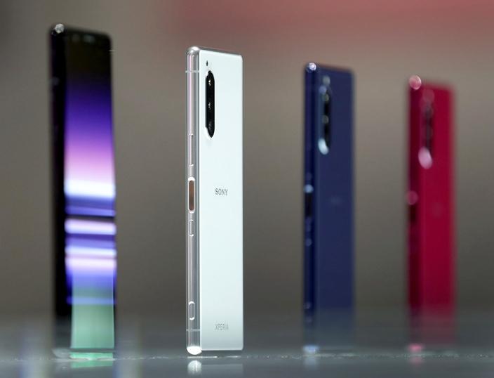 索尼技術領先,但手機缺乏個性,錯失了競逐優勢。(AP圖片)