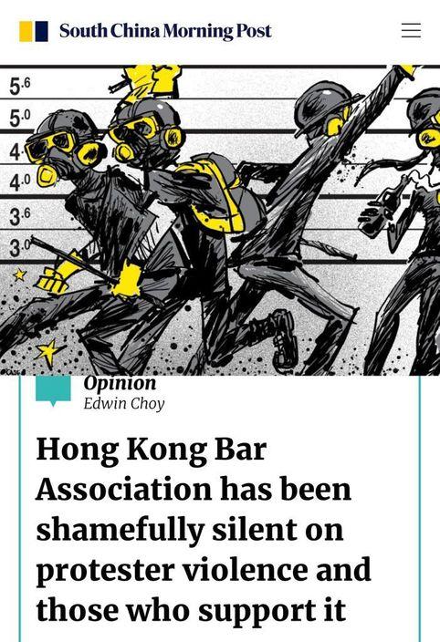 蔡維邦向南華早報撰文,講述他為何辭去公會職務。