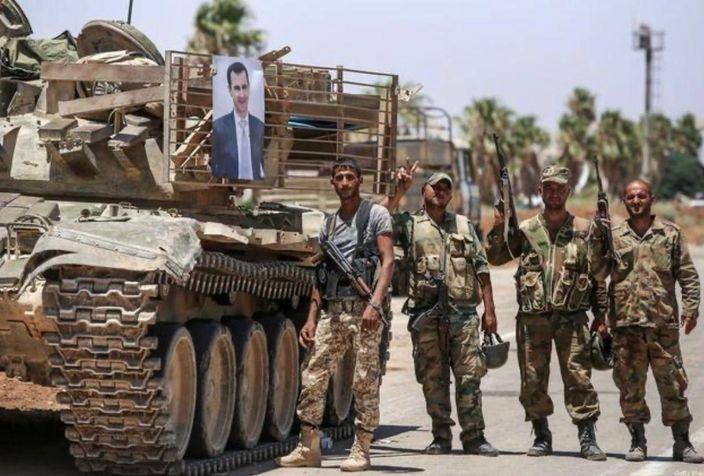 亲叙利亚政府的军队开入叙利亚东北部地区。