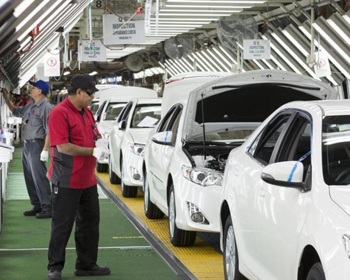 日本汽車製造是少數日本領先世界的領域。(資料圖片)